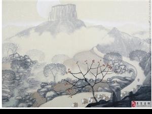 1986年创立沂蒙画派创始人、学院派艺术家刘阳先生沂蒙作品