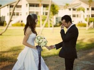 当女人穿上婚纱,男人都美哭了