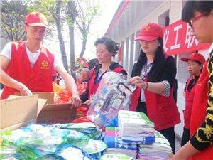 岳池义工周末在伏龙乡开展敬老活动