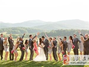婚礼上伴郎伴娘怎么拍照?得学学他们!