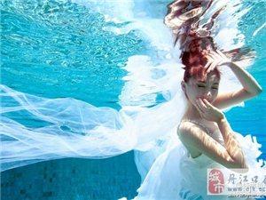 拍摄水下婚纱照的三个注意点