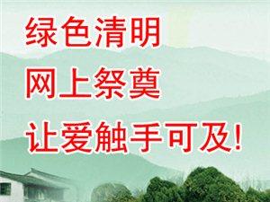 【公告】2015年清明��W上祭奠�l道�_通暨文明祭祀、低碳�h保的倡�h��