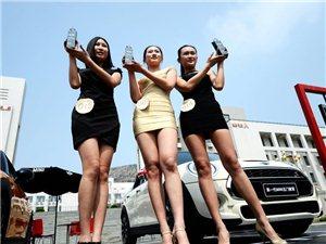 济南豪车赞助校园选美 众大一女生秀长腿