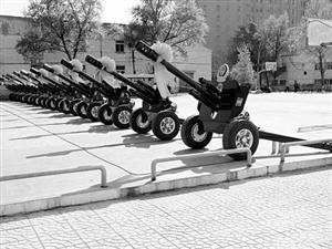 抗战胜利70周年大阅兵72门礼炮是咱山西造