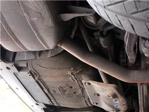 BMW535GT改装排气and刹车