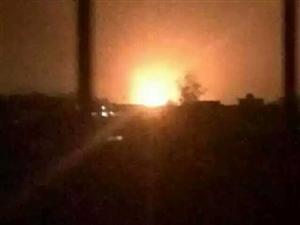 昨晚九塘附近一工厂发生火灾(有爆炸声)