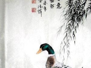画家朱德辉的工笔画
