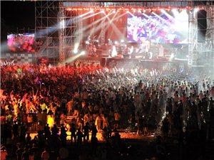 汉川�N和农庄摇滚之夜音乐节