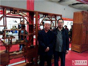 张全义收藏奇石参加甘肃省精品奇石展