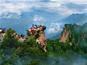 电脑下注网站户外-4月26日焦作五A景区神农山登山戏猴一天活动