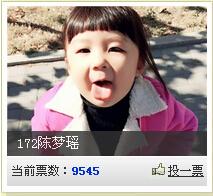 【成绩公布】澳门金沙城中心公益宝宝比赛结束,宝宝成绩公布
