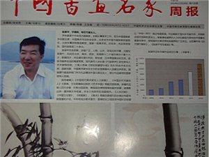 """最具权威的《中国书画名家报》整版报道""""天下第一竹""""赵录平的墨竹作品"""