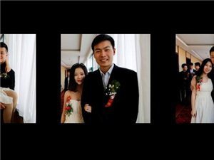 婚礼摄影纪实跟拍,制作精美画册书。