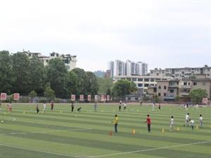 湄潭中学生校园足球集训近期拉开序幕