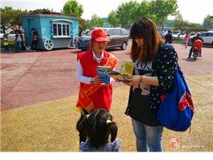 """【活动报道】""""五一志愿服务――文明旅游宣传"""""""