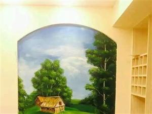 家装手绘墙,3D壁画 主题酒店别墅、会所壁画 KTV、酒吧涂鸦
