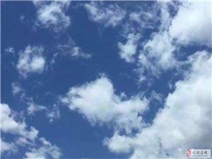 """今日临汾,蓝天白云,绿树成荫,怎一个""""美""""字了得!"""