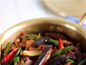 三椒茄子煲