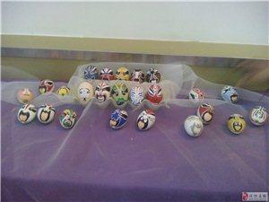 博中13级高二学生美术部分作品展(手机拍摄)