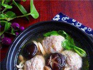 菌菇丸子汤