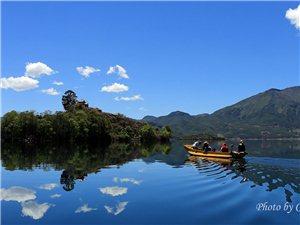 高原明珠――泸沽湖风光-存储摄影