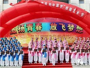 合阳校园文化艺术节展演活动精彩纷呈(第三中学学区)