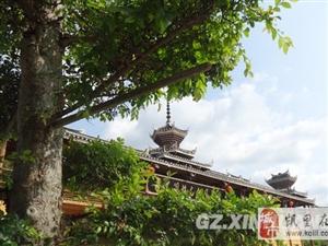 从江县民族特色建筑引客来