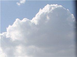 澄城的蓝天白云