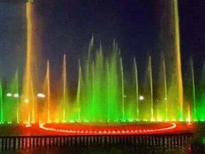 大像山公园美丽的喷泉