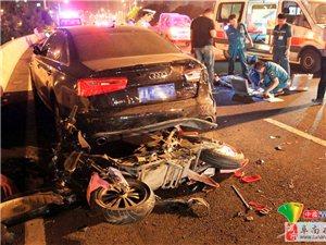 18岁男生骑改装电动车飙车撞亡