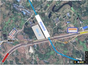 川南城际铁路自泸段富顺站设置方案,附方案图探讨。