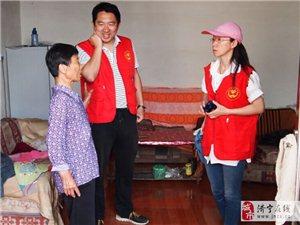 三团义工赴唐口走访调查困难学生家庭