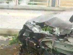 疑酒后驾车,澳门太阳城平台掘港渭河路惨烈车祸(内有视频)