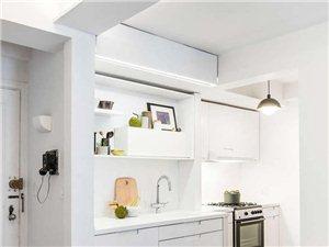 36平小公寓竟能移出90平效果 精妙的空间利用