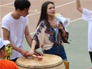 锦州渤海大学运动会上等美女帅哥