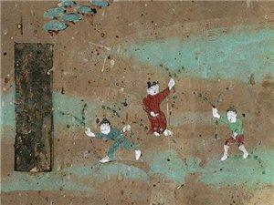 """穿越千年的""""童趣"""":敦煌壁画中的孩童图像"""