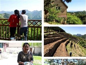 带着孩子入住高山木屋,看梯田,逛村落,吃原生态蘑菇宴