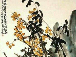 画家陈丹晖花鸟画欣赏