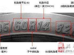 """手把手教你识别""""轮胎上字母的含义"""""""