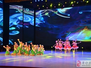 舞蹈《荷花童子》小天鹅舞蹈培训中心