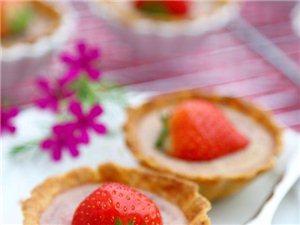 草莓芝士挞