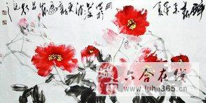 吴俊牡丹花作品欣赏,看完这个你有没有爱上牡丹呢?很漂亮吧