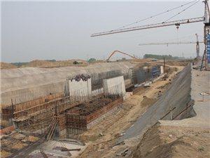 沱浍河航运工程之于永城
