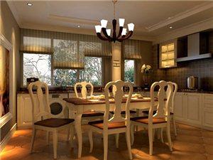 厨房、餐厅装修效果图