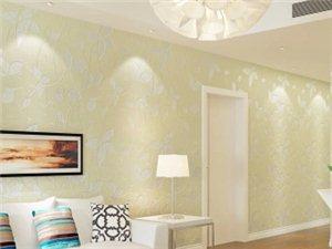 3D立体无纺布植绒壁纸田园卧室温馨浪漫电视客厅背景墙纸包邮