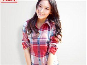 MJX2014秋装新款格子衬衫女长袖时尚休闲修身潮女装情侣