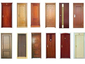 套装门、铝合金门、防盗门等门业