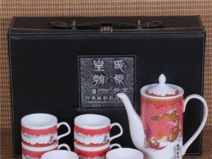 中山珠海批�l�Y品茶具、�c典�Y品【�y河朝�】茶具七件套