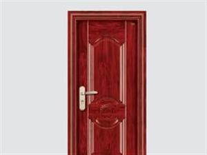 步阳门-钢木门