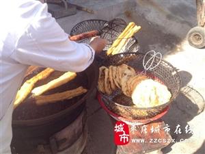 我发现枣庄正宗的粥和油条馅饼我感觉是吃到了小时候的味道